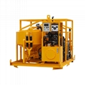 High quality diesel drive grout mixer and pump price