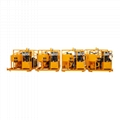 High quality diesel drive grout mixer and pump price 9