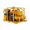High quality diesel drive grout mixer and pump price 3