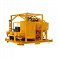 High quality diesel drive grout mixer and pump price 5