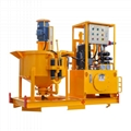 Electric engine grout mixer and pump made in China 2