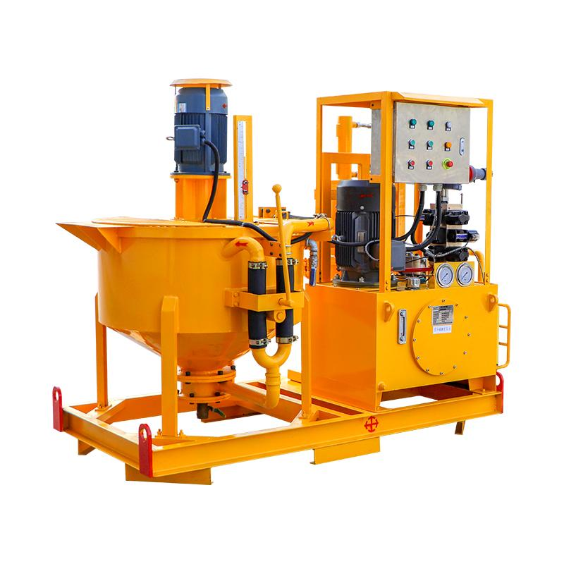 Advanced technology grout plant for ground construction 7