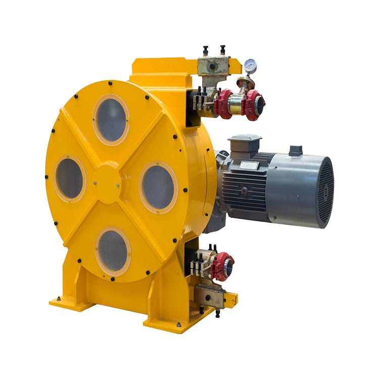 Good quality easy to operate squeeze peristaltic pump for pumping bentonite in T 8