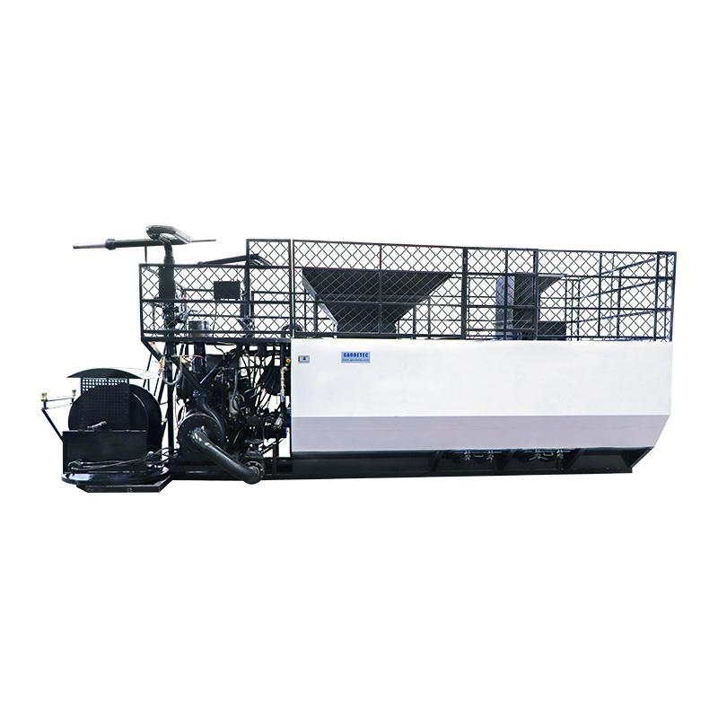 soil spraying seeds grass planting machine
