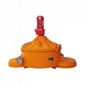 GCPM serie counter current planetary concrete mixer for sale 7