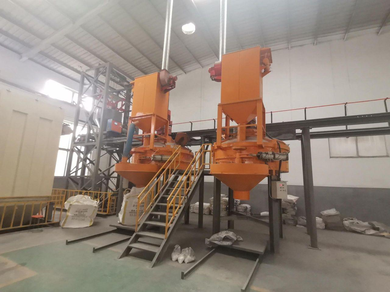 GCPM serie counter current planetary concrete mixer for sale 8