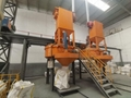 GCPM serie counter current planetary concrete mixer for sale 9