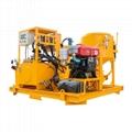 Popular high pressure diesel engine driven grout plant 1