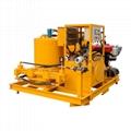Popular high pressure diesel engine driven grout plant 4