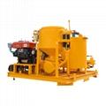 Popular high pressure diesel engine driven grout plant 6