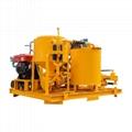 Popular high pressure diesel engine driven grout plant 7