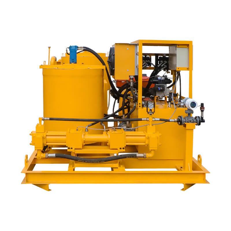 Popular high pressure diesel engine driven grout plant 8