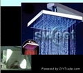 Changing colors with RGB led shower head