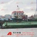 湛江車船蓋貨用耐磨油蠟帆布