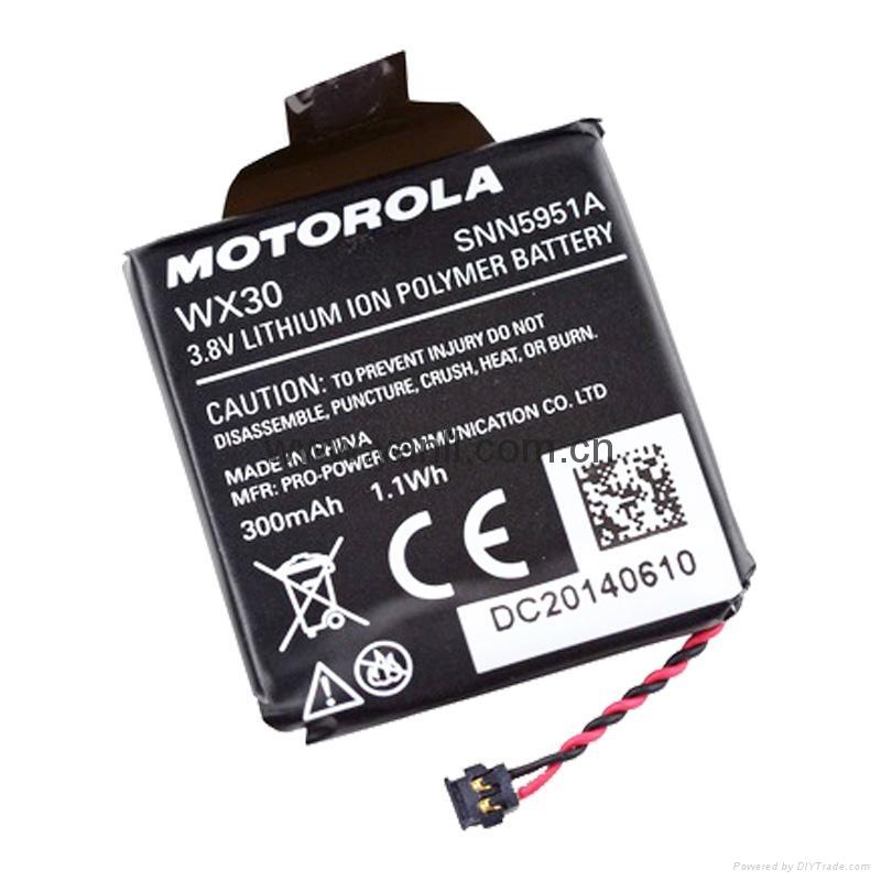 摩托罗拉Moto 360智能手表锂电池 1