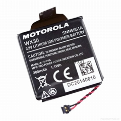 摩托罗拉Moto 360智能手表锂电池