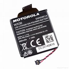 摩托羅拉Moto 360智能手錶鋰電池