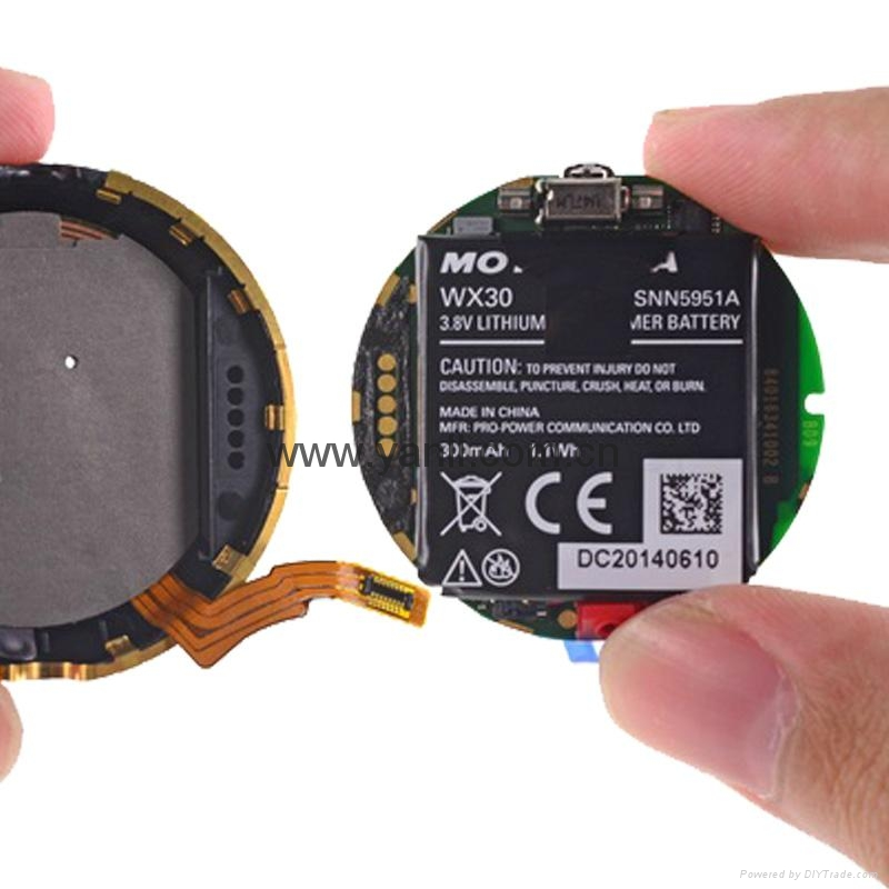 Motorola Moto 360 Smart Watch Battery - WX30