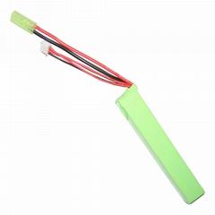 电动CS玩具电池551895 11.1V 1150mAh短口香糖