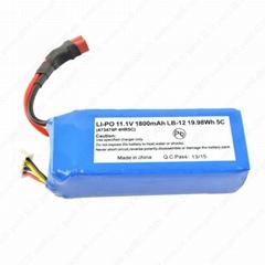 教育教學機器人鋰電池11.1V 1800mAh