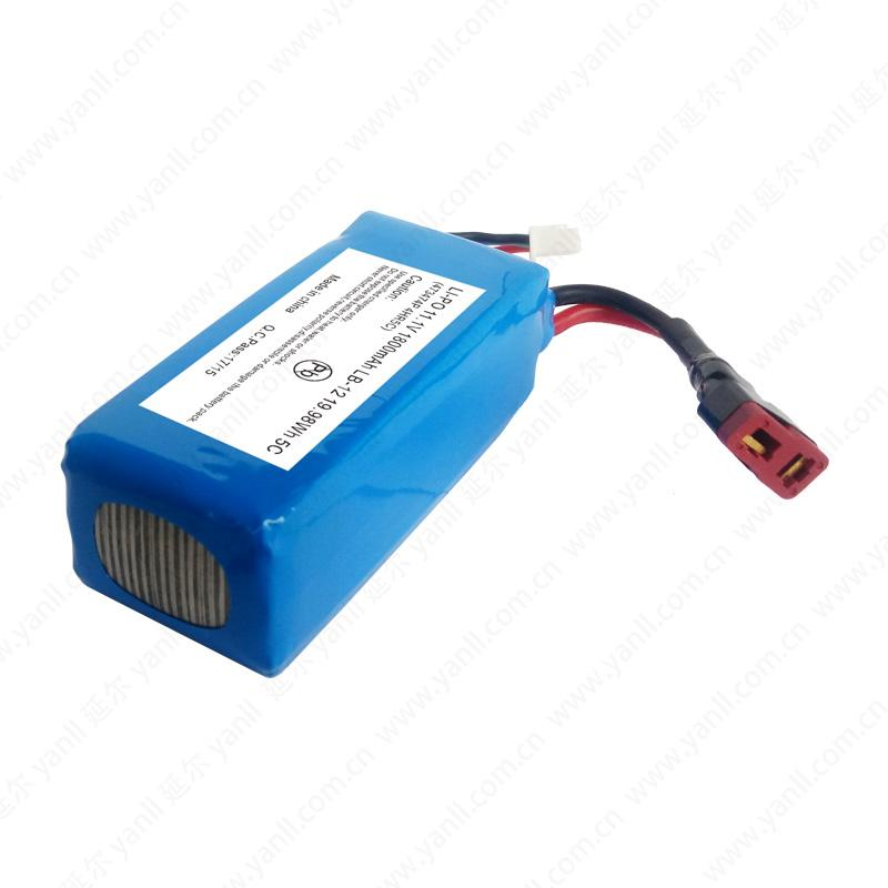 RC LiPo Battery Pack for Robot 3