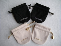 Micro Fibre jewelry pouch gift pouches factory