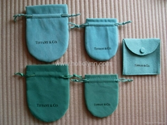 wholesale tiffany gift pouch jewellery pouch bag