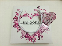Pandora paper bag diamond heart-shaped new version