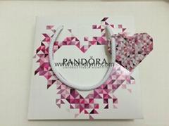 Pandora paper bag diamond heart-shaped new version