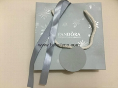 Pandora paper bag snowflake collections new version