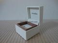 Pandora ebonite box 5x5x4cm (white sponge inside) for ring old version