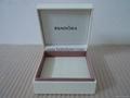 Pandora ebonite box 9x9x4cm (white sponge inside) for bracelet old version