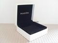 Pandora ebonite box 9x9x4cm (black sponge inside) for bracelet new version