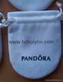 Pandora velvet pouch 10x8cm (large,
