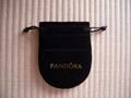 Pandora velvet pouch 8x6.5cm (small, black) old version