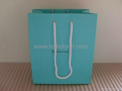 Tiffany paper bag_blue colour