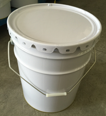 wholesale 20L metal tin flower bucket for chemical