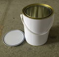 4L metal tin can for paints with metal