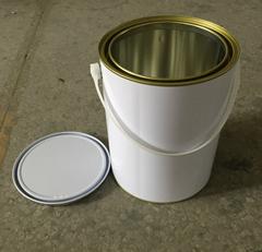 4L metal tin can for pai