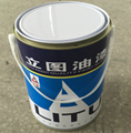 4L metal tin can for paints with metal handle 3