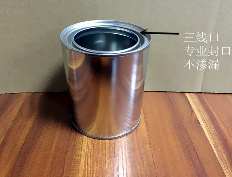 1L metal tin can for paints