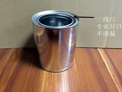 1L metal tin can for pai