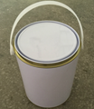 1 gallon metal tin can for paints with
