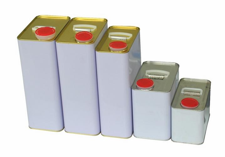 5L square metal tin can  2