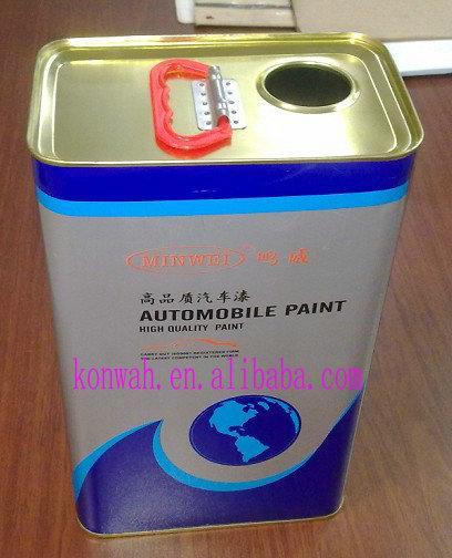 5L square metal tin can  1