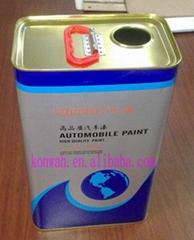 5L square metal tin can