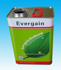 3L square tin can for ed