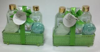 Hot selling Magnolia & Tuberose Bath Gift Set