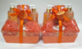 Charming Orange & Mango Bath Gift Set for women