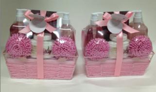 Cherry Blossom Bath Gift Set for women 1